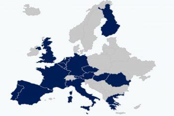Mapa ED-Europa